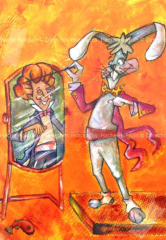 Ilustración para El concierto conejo de la Orquesta Filarmónica de Bogotá