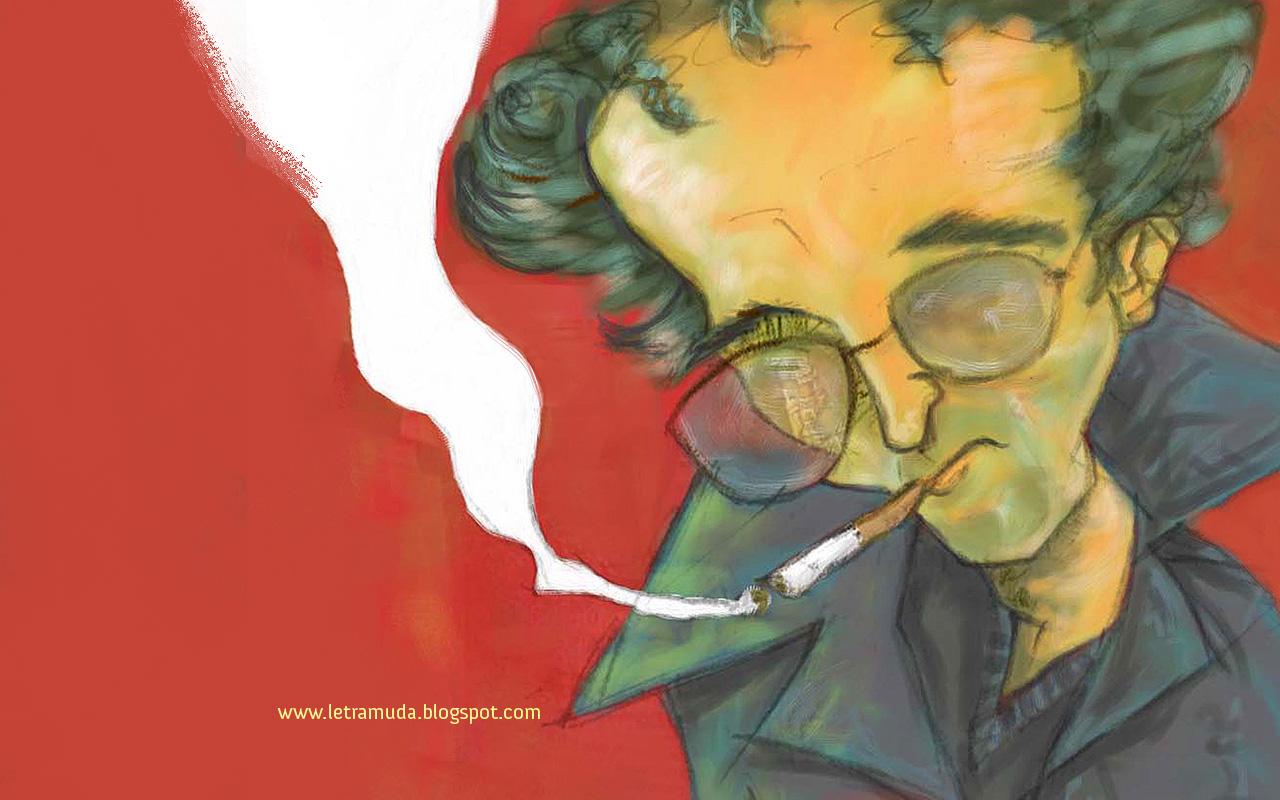 Wallpaper de Roberto Bolaño 1280*800