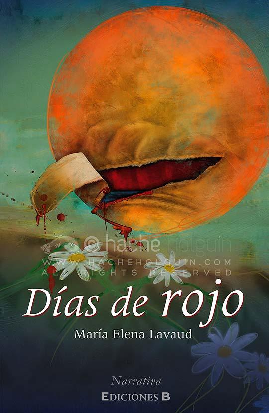 Ilustración Días de Rojo por Hache Holguín