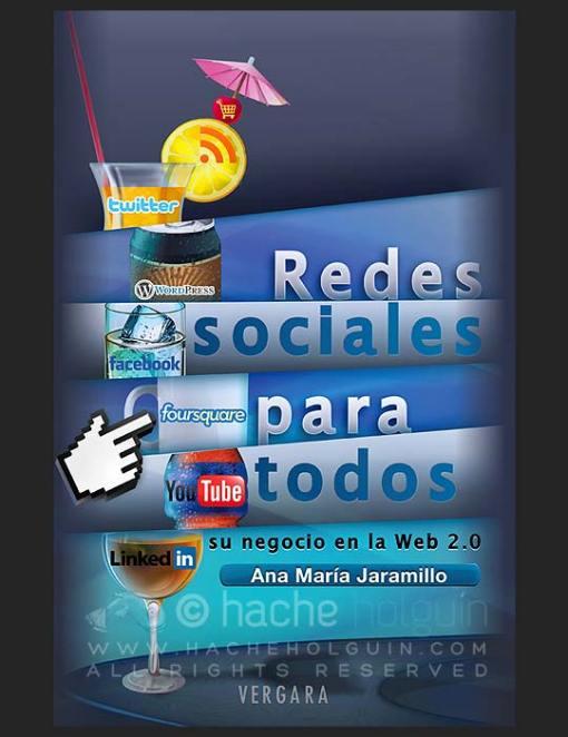 Diseño de carátula. Redes sociales para todos  por Hache Holguín