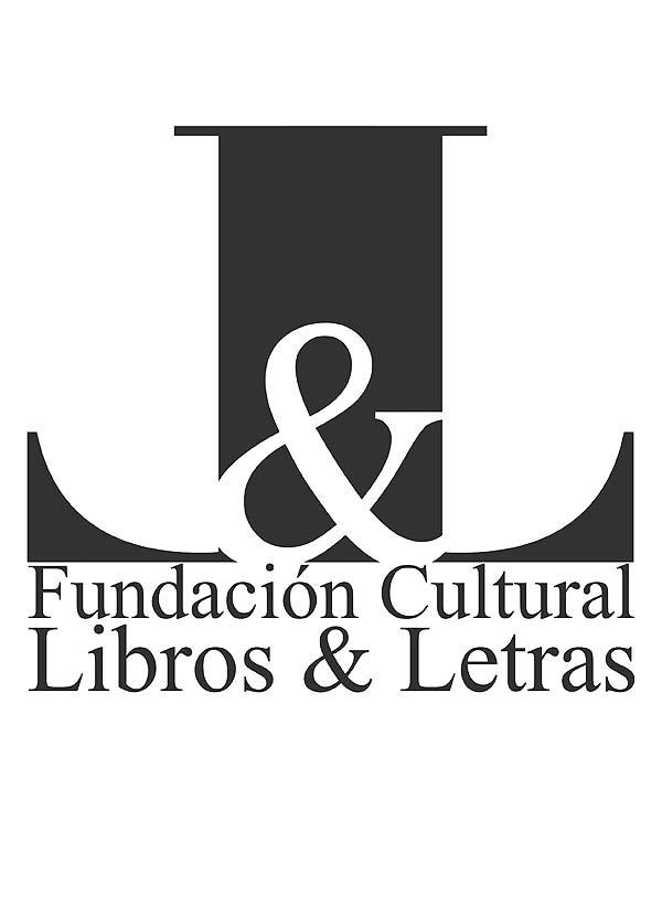 Logotipo. Libros y Letras por Hache Holguín