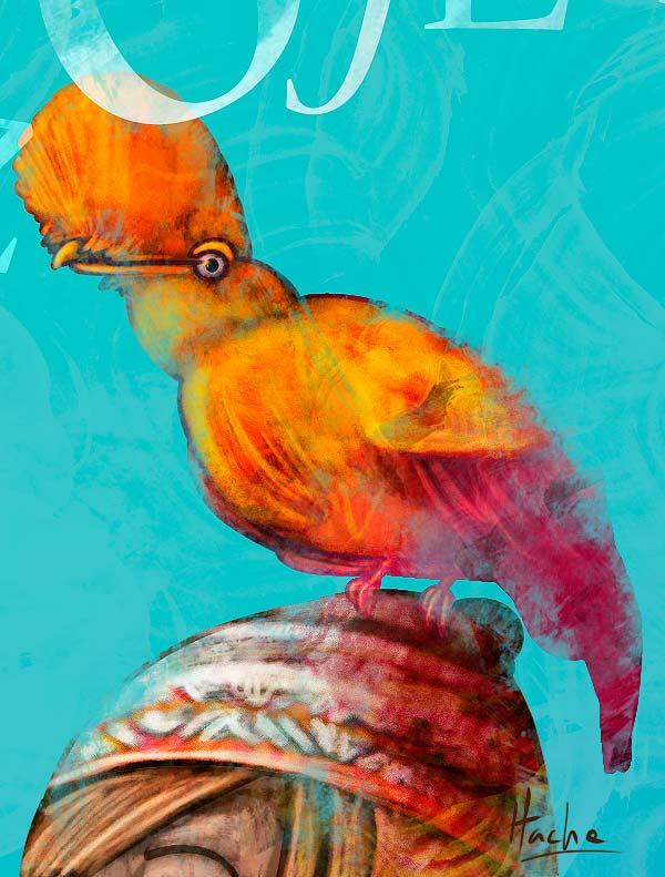 Ilustración y diseño. Portada Libros y Letras Nº 90