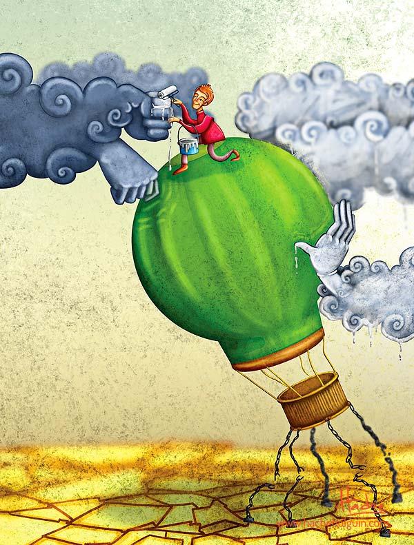 Ilustración. Resiliencia para Huella Social (El Tiempo) por Hache Holguín