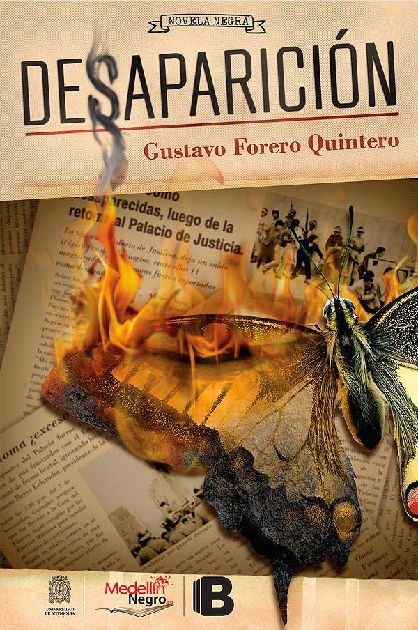 Ilustración y diseño de portada. Desaparición por Hache Holguín