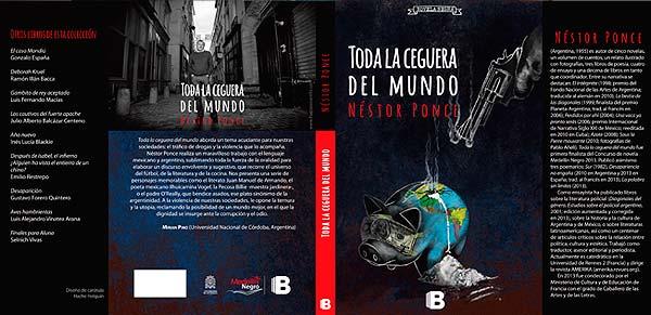 Diseño de portada de libro. Toda la ceguera del mundo