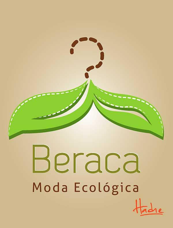 Imagen corporativa. Beraca, ropa ecológica por Hache Holguín